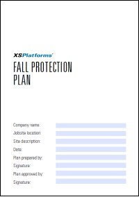 Fall Protection Plan Template | Provide Safety Make A Fall Protection Plan Xsplatforms