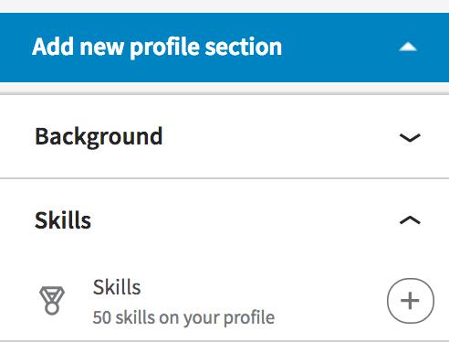 LinkedIn Profile: competenze e conferme di competenze