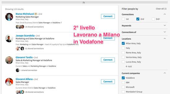 Lead generation su Linkedin: come usare la ricerca avanzata