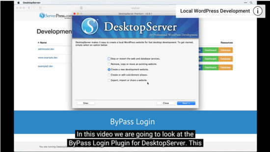 Screenshot of ByPass Login YouTube Tutorial