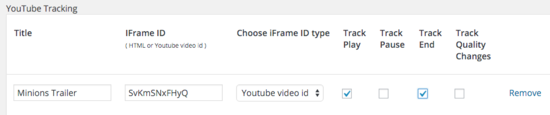 YouTube Tracking is easier now with the new version – 2.0.4