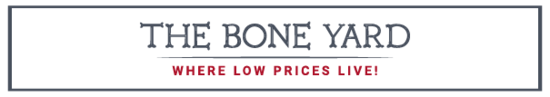 The Bone Yard Where Low Prices Live
