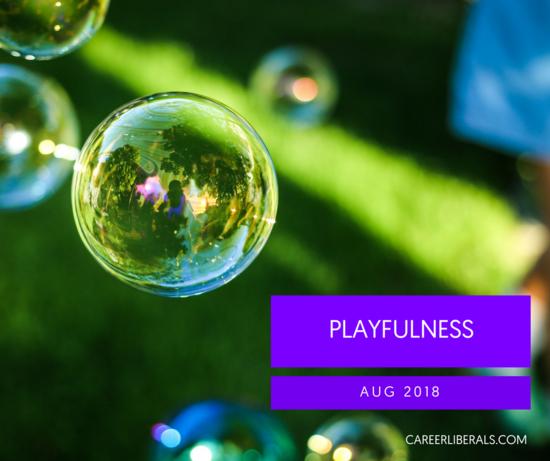 career playbook playfulness at work