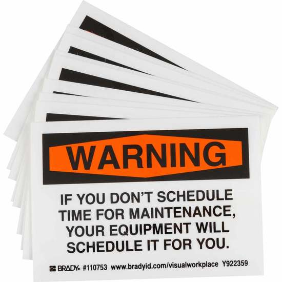 If you don't schedule maintenance....
