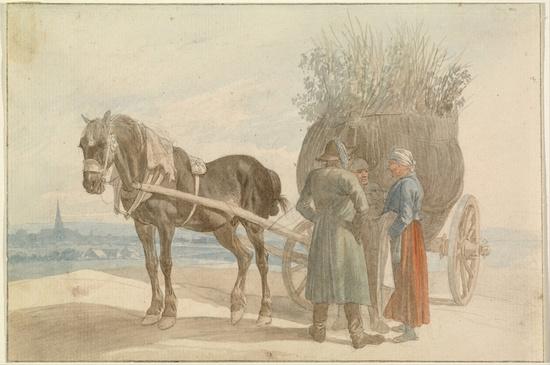 Horse, then cart - the orer matters