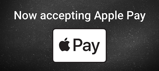 Apple Pay at GruntStyle.com
