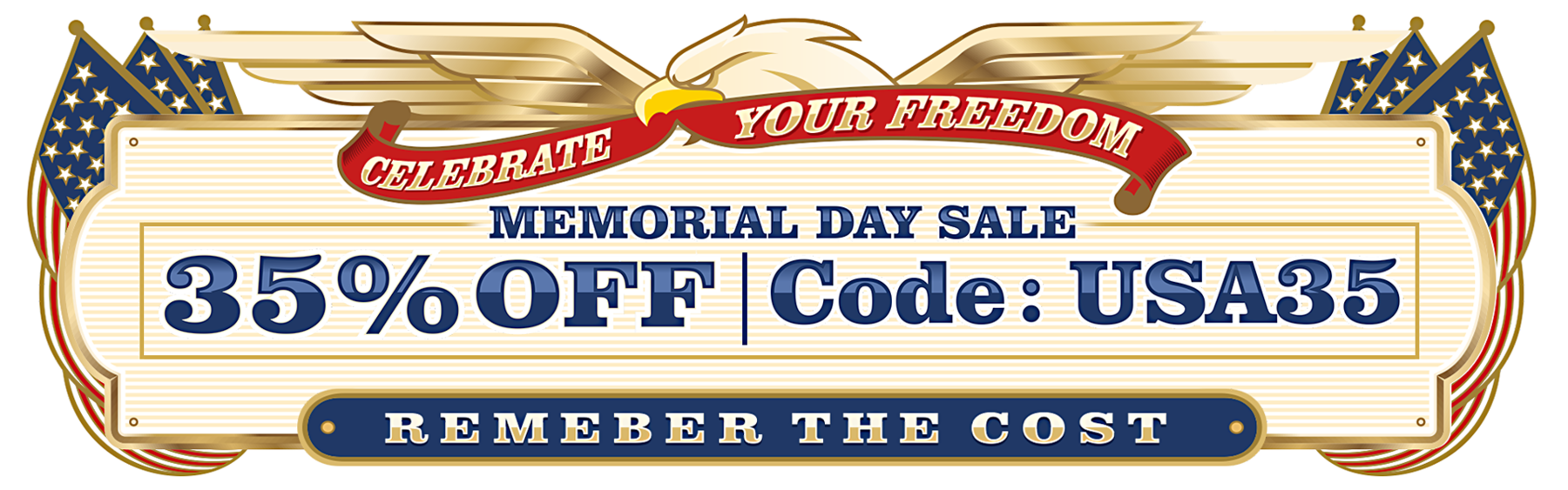 Memorial Day Sale: 35% OFF ALL SEEDS!