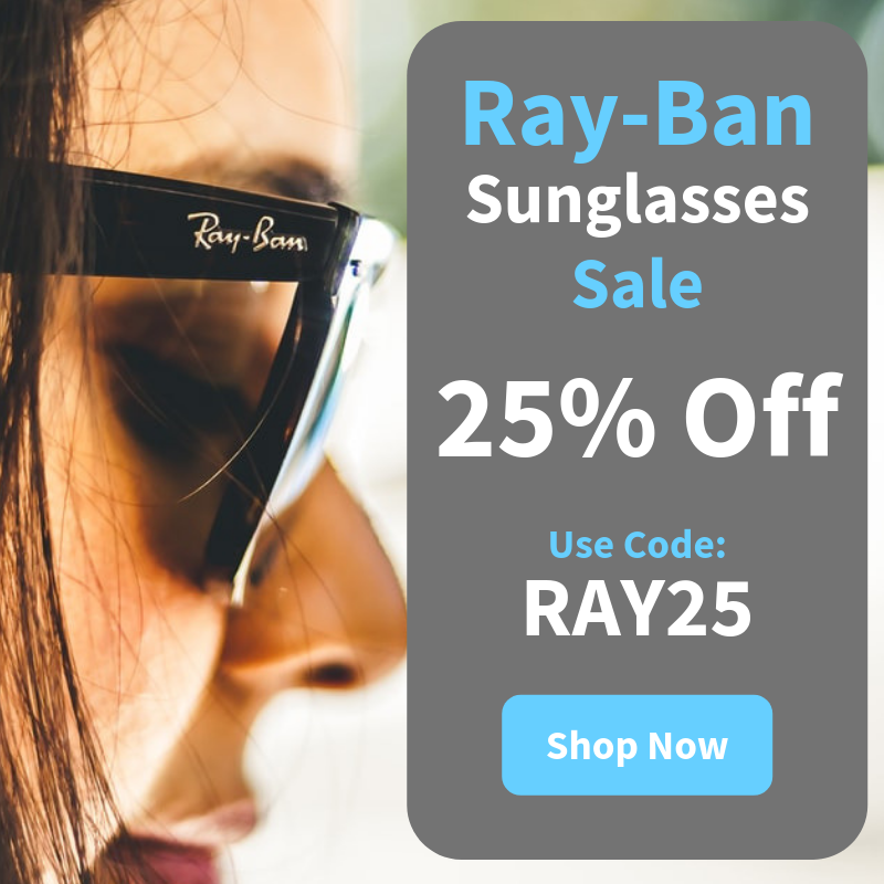 Ray-Ban 25% Off Sale