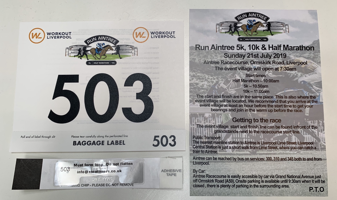 Race Information - Run Aintree - 5k, 10k & Half Marathon at