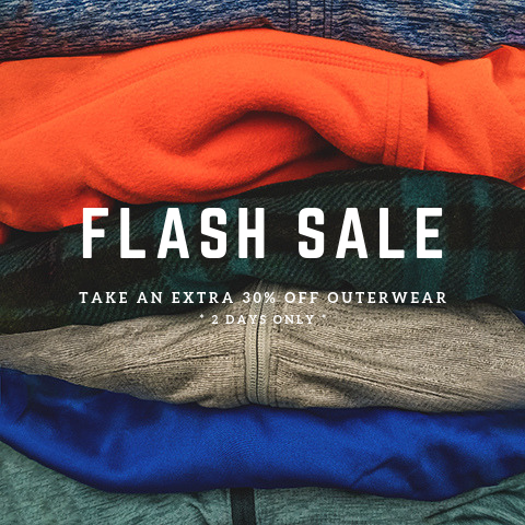 Outerwear Flash Sale