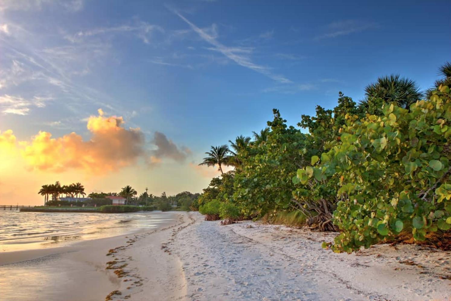 Martin County Florida has fantastic beaches for families.